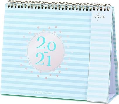 Best Standing Desk 2021 Amazon.: 2020 2021 Desk Calendar   Standing Flip Calendar 2020
