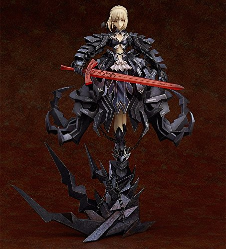 31cm-Japanese-anime-figure-black-Fate-Stay-Night-Saber-Alter-huke-action-figure-collectible-model-toys-for-boys