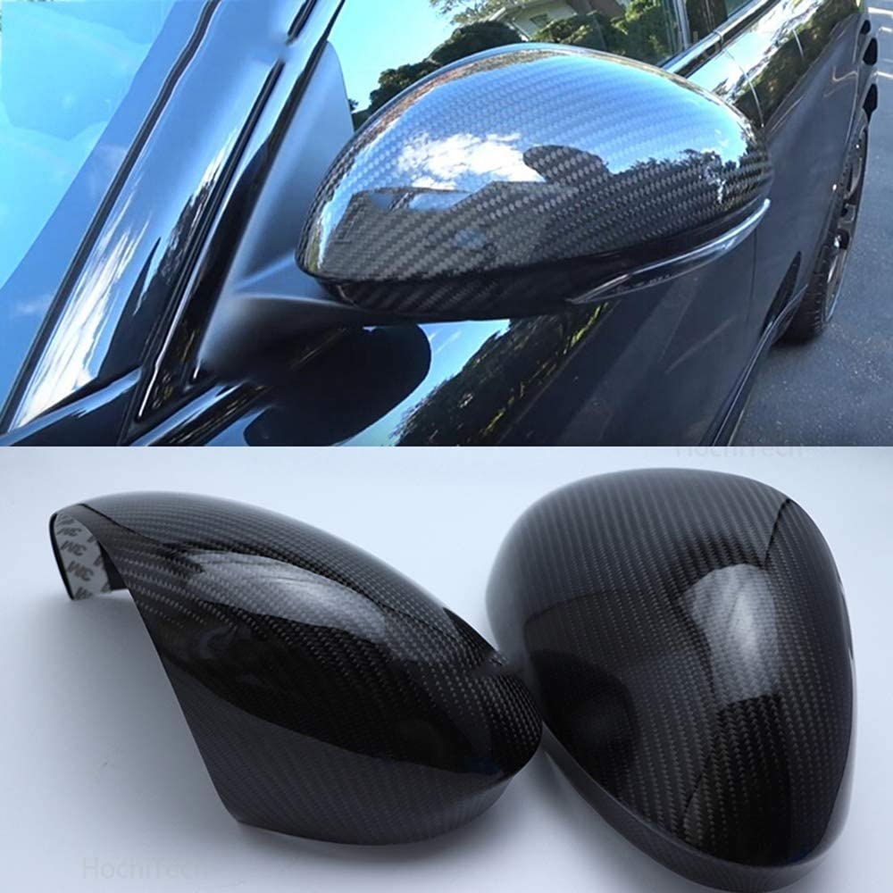 HCZSZH ,For Alfa Romeo Stelvio 2016 2019 High quality carbon fiber side mirror housing mirror cover Rearview mirror accessories