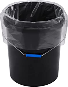 Xsourcer 5 Gallon Bucket Liner Bags, Food Grade Platisc Bag for Marinading and Brining, Durable & BPA Free Bag for Home Kitchen (30 Pack, 1.6 Mil)