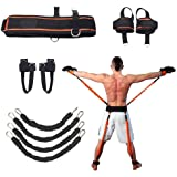 Sunsign Speed and Agility Resistance Bands Trainer for Vertical Jump Squat Boxing MMA Taekwondo Karate Bounce Softball…