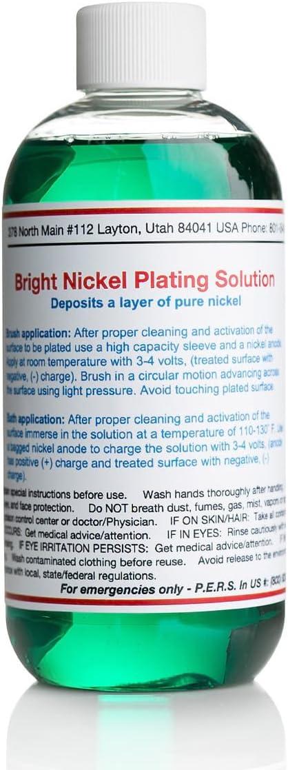 Bright Nickel Plating Solution (8 oz)
