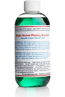 Amazon com : Nickel Plating Solution- with Brighteners  One