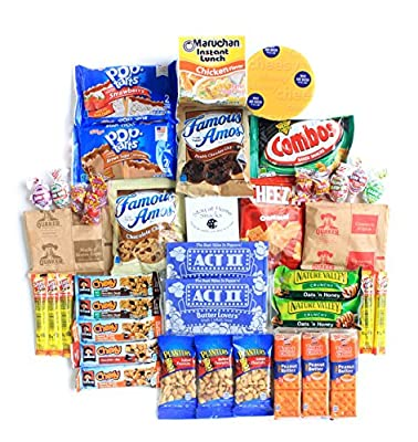 Ultimate Care Package Full of Delicious Comfort Food and Snacks