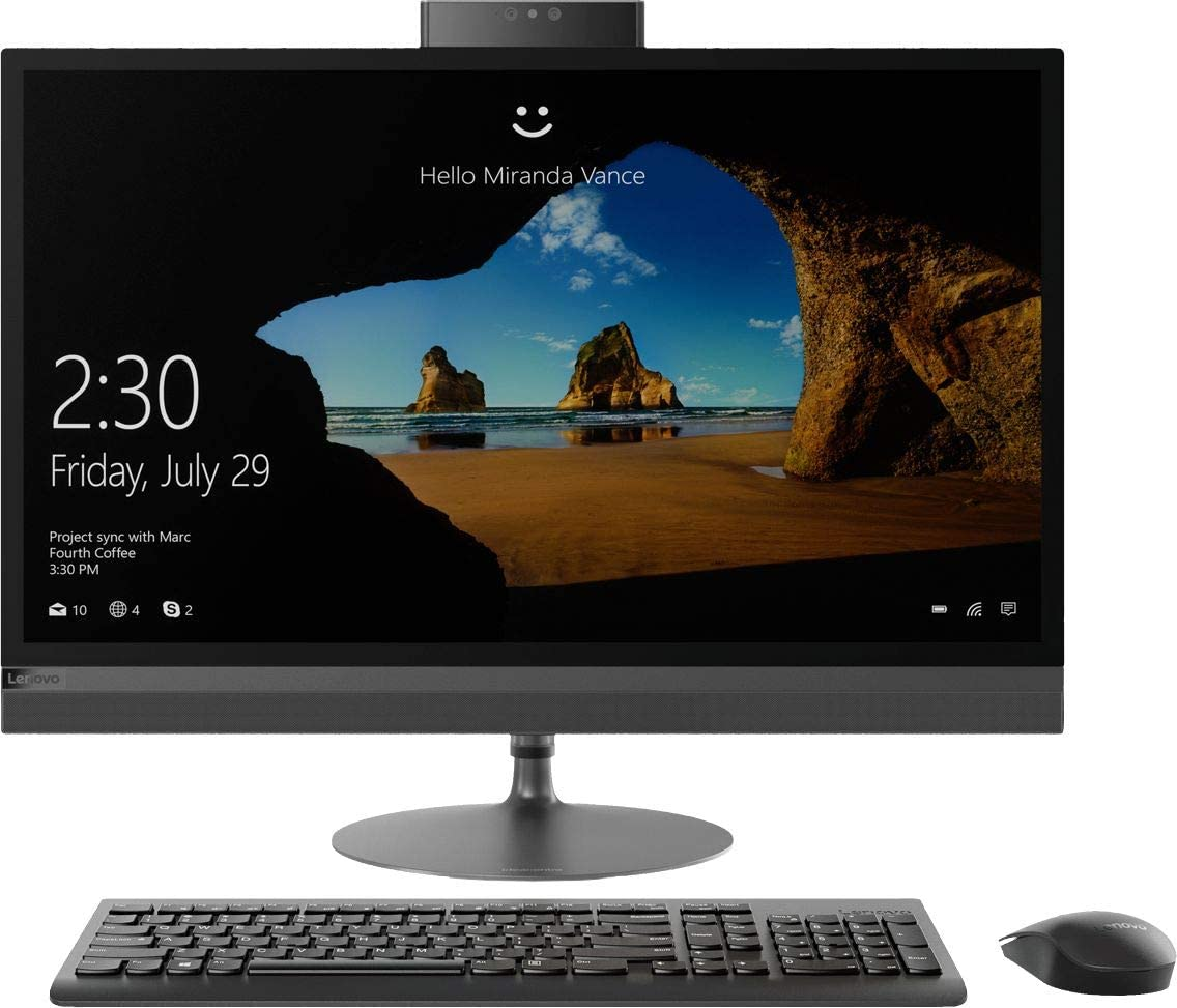 "Lenovo IdeaCentre 520-27 AIO - 27"" Touch 2560 x 1440 - i5-8400T - 8GB - 1TB HDD - Black"