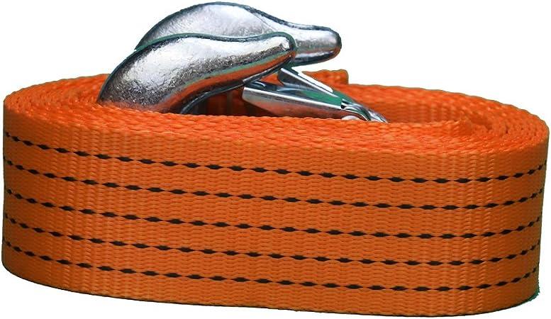 Correa de servicio Pesado Cuerda De Remolque Gancho De Cable Coche Furgoneta carretera recuperación Reino Unido Remolque Tirar Cuerda