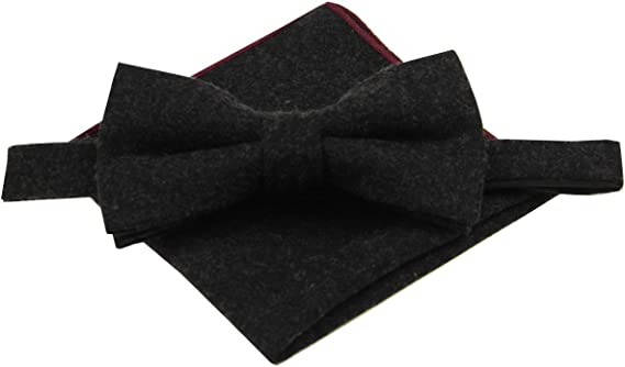 Mens Boys Kids Wedding Herringbone Tweed Blue Slim Tie /& Pocket Square Set