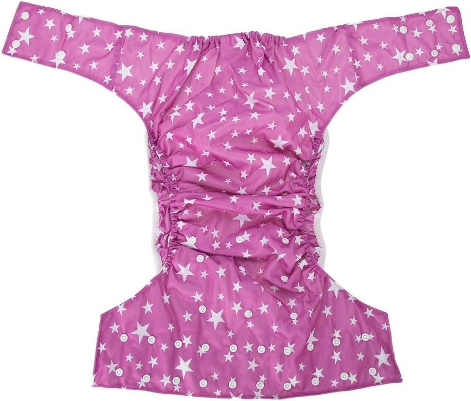 Couleur : 01# Couches lavables Soins des couches en tissu adulte Couches r/éutilisables Couches en tissu pour adultes r/églables Soins de sant/é Femmes