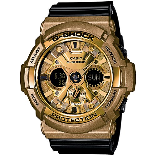 G Shock Mens GA200GD Gold Watch