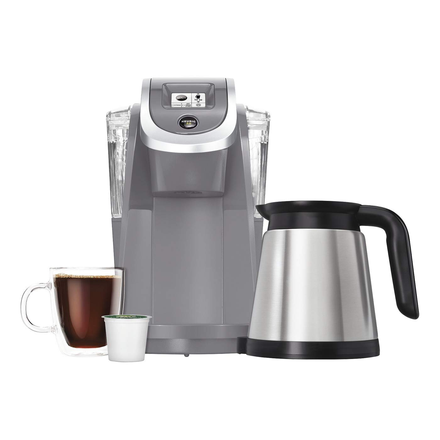 Keurig K200 Single Serve K-Cup Pod Coffee Maker - Cashmere Gray - Limited Edition - Home And Garden