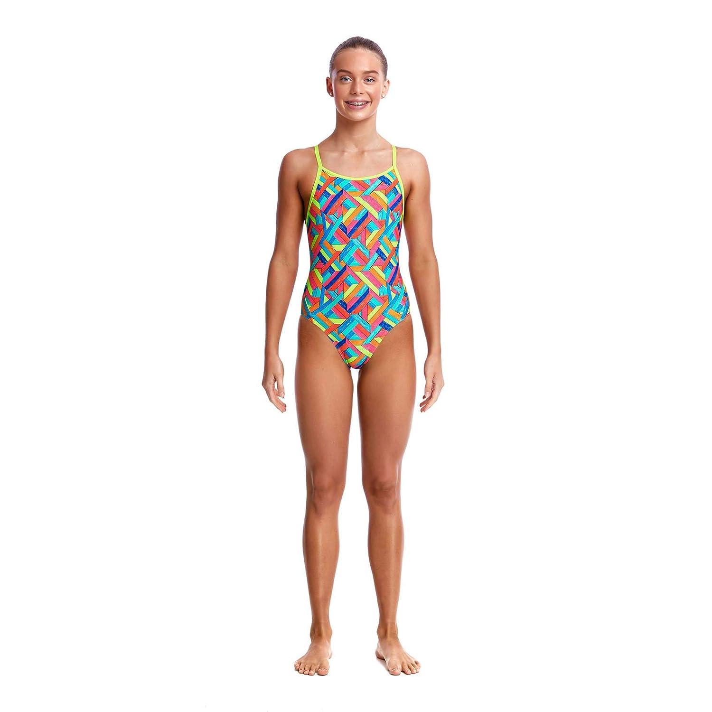 Funkita Panel Pop Girls Swimming Costume for Swimming Training
