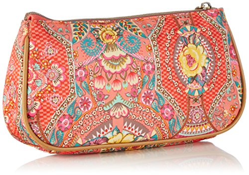 Oilily mujer de para Bolso Rosa sinttico Bag FP Coral 219 Pink Basic Cosmetic Cosmticos material vwqrvfF
