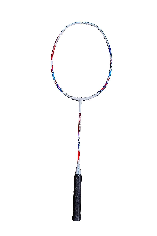 TaranisバドミントンラケットT - 7 K3 SFホワイト+レッド+ブルー B0773M6N68