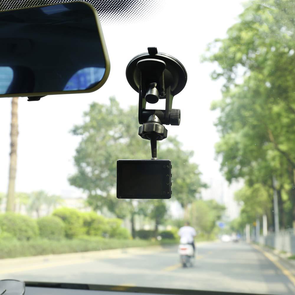 Dosili Dash CAM Soporte de Ventosa para Garmin Dash CAM 45 55 65W 46 56 66W y Speak Plus 010-12530-00 010-12530-05
