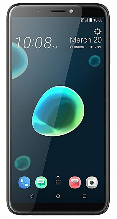 HTC Desire 12 + (Cool Black, 3GB RAM, 32GB Storage) Mobile Phone Cases & Covers at amazon