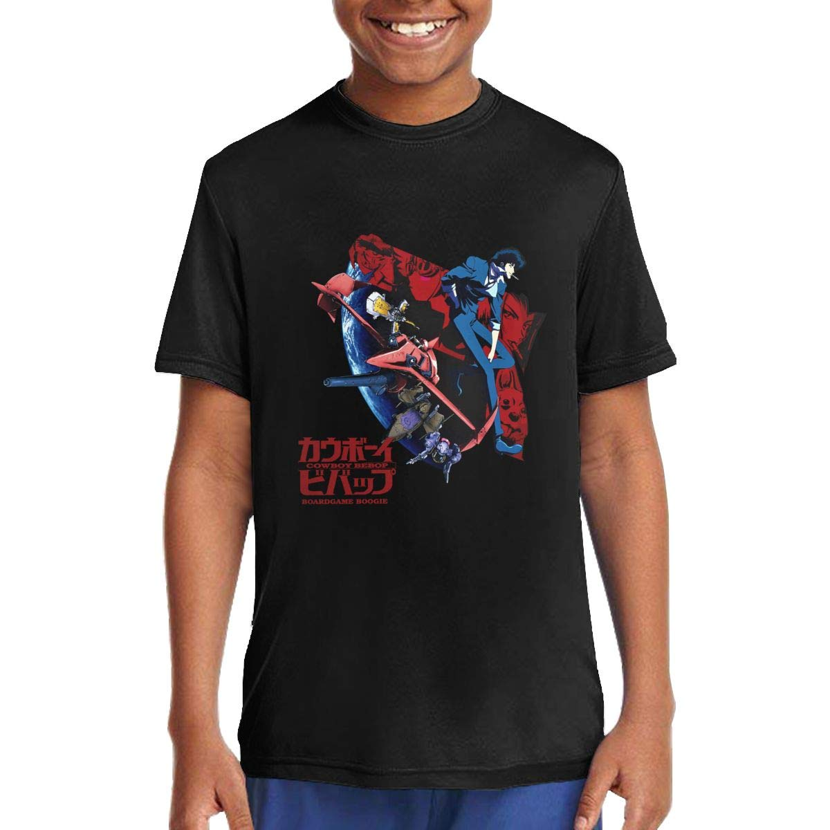 MichaelRoberson Youth Boys Teenage T-Shirt Cute Tees Anime Tshirts Tees