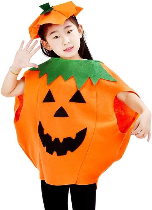 Huhuswwbin - Disfraz de Calabaza de Halloween, Disfraz de Fiesta ...