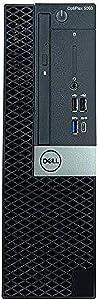 Dell OptiPlex 3060 Micro Desktop Intel Core i5 8th Gen i5-8400T Six Core 256GB SSD 8GB Windows 10 Pro (Renewed)