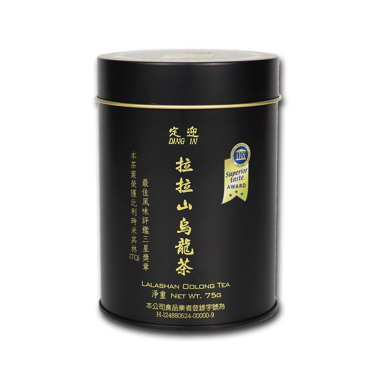 DING IN Lalashan Oolong Tea 75g/can by Ding In ltd. (Image #1)