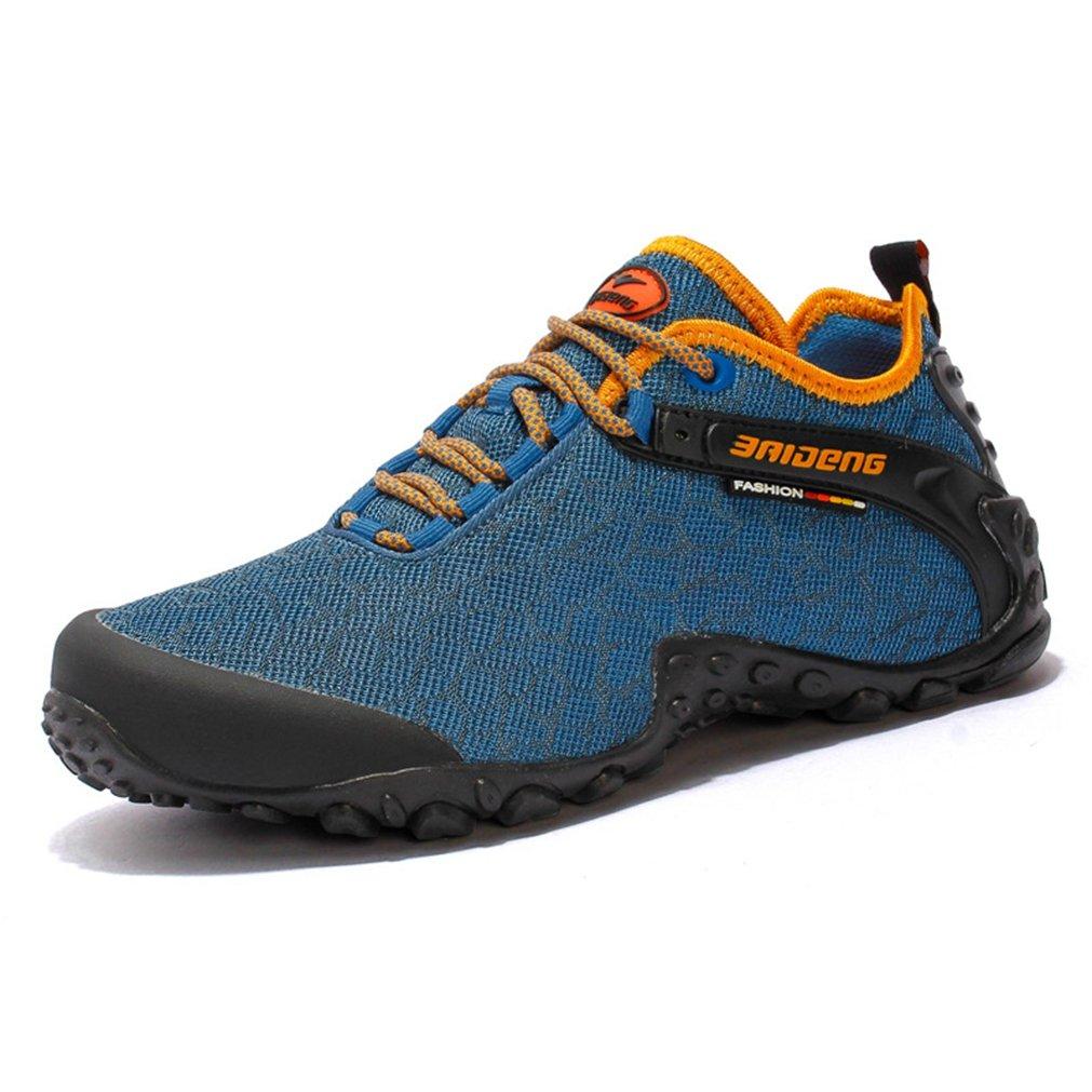 Unisex - Erwachsene Gummi Sohle Trekking Sportlich Outdoor Klassische Entspannt Strapazierfähig Anti-Rutsch Abriebfest Flexibel Niedrig Outdoorschuhe