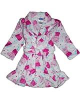 Peppa Pig Little Girls Bathrobe Sleepwear 2T-4T