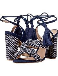 Women's Leyrieli Heeled Sandal, Blue