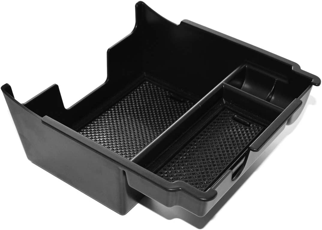 LUVCARPB Car Organizer Central Armrest Storage Container Holder Tray Box Accessories Car Styling,Fit for Subaru Crosstrek Impreza 2018-2020