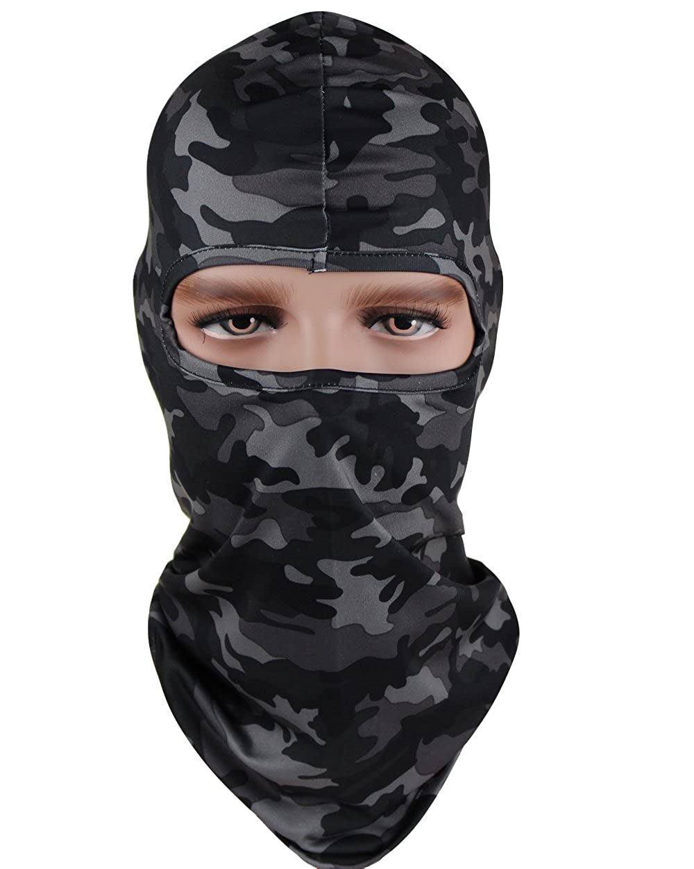 GANWAY Cs Hat Stretch Tactical Outdoor Ski Balaclava Motorcycle Mask Scarf Cap