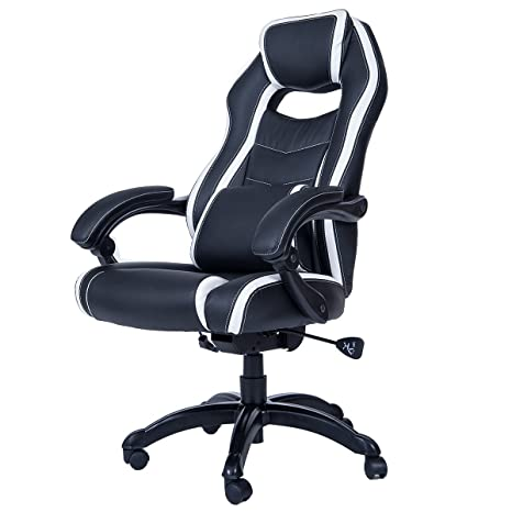 Amazon.com: merax Respaldo Alto Spacious Racing Estilo ...