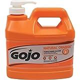 GOJO 12 Gallon Bottle White Natural Orange Citrus Scented Heavy Duty Hand Cleaner