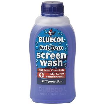 Bluecol - Cadena textil - Anticongelante concentrado de 36 °C Azul 500 ML: Amazon.es: Coche y moto