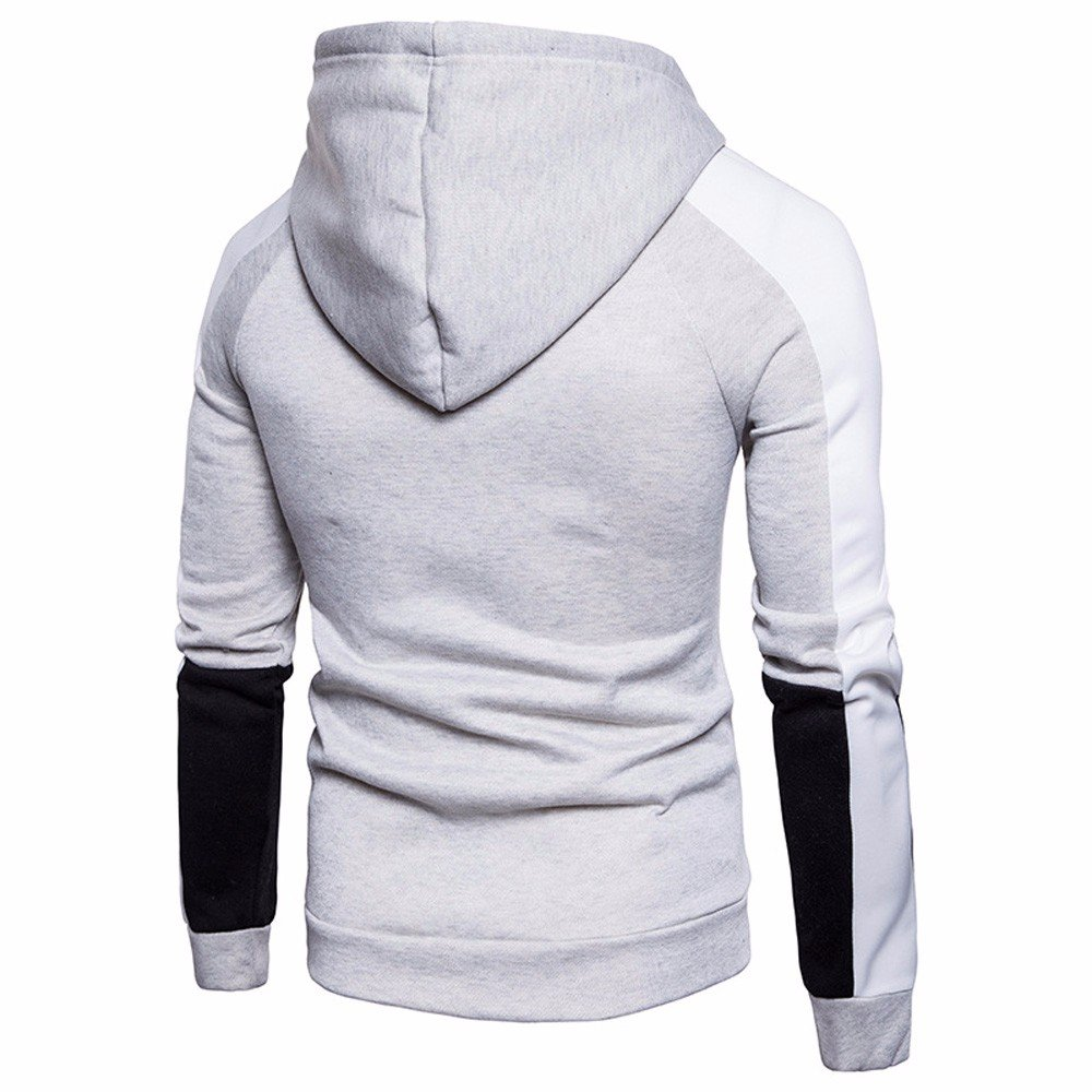 Amazon.com: Sannysis Mens Pullover Hoodie,Men Autumn Slim Letter Printed Sweater Hooded Shirt Zipper Tops Blouse Outwear: Clothing