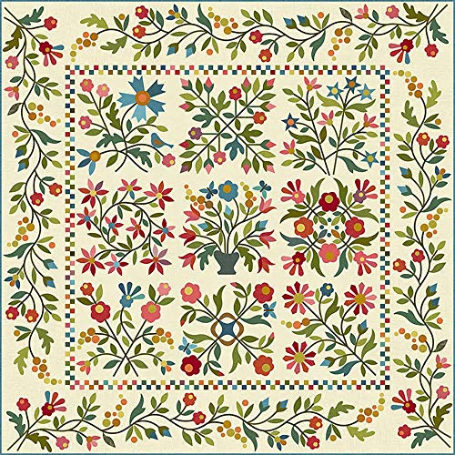 - Laundry Basket Quilts-Spring Bouquet