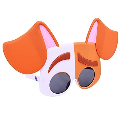 Sunstaches Secret Life of Pets Max Sunglasses, Party Favors, UV400: Toys & Games