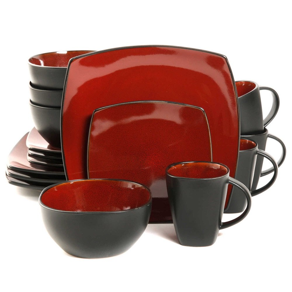 sc 1 st  Amazon.com & Amazon.com | Gibson Home Amalfi 16-Piece Dinnerware Set: Dinnerware Sets