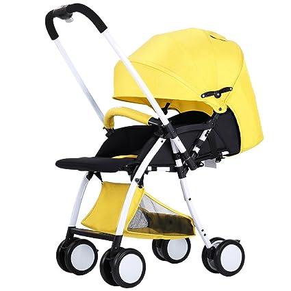 Cochecito de bebé para Bebés Cochecito de bebé Cochecito Compacto Cochecitos Añadir Bandeja (Cinco Colores