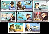 Maldive Islands Sir Winston Churchill. Scott 524-531. Mint never hinged.