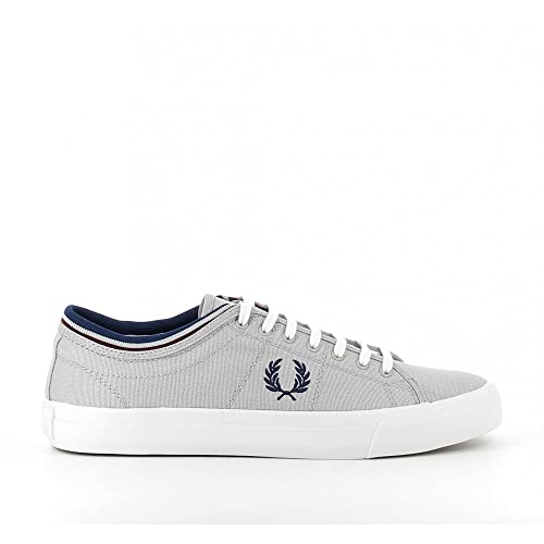Fred Perry Zapatillas Kendrick Tipped Gris: Amazon.es: Zapatos y complementos