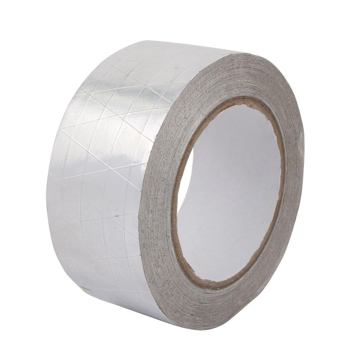 uxcell Aluminum Foil-Scrim-Kraft Insulation Jacketing Tape 20 Meter Length x 50mm Width