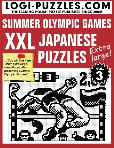 Japanese Number Puzzles - XXL Japanese Puzzles: Summer Olympic Games