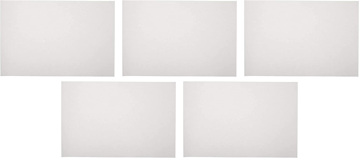 12 x 18 Inches Extra-White Sax Sulphite Drawing Paper 2 Sets Pack of 500-053946 80 lb