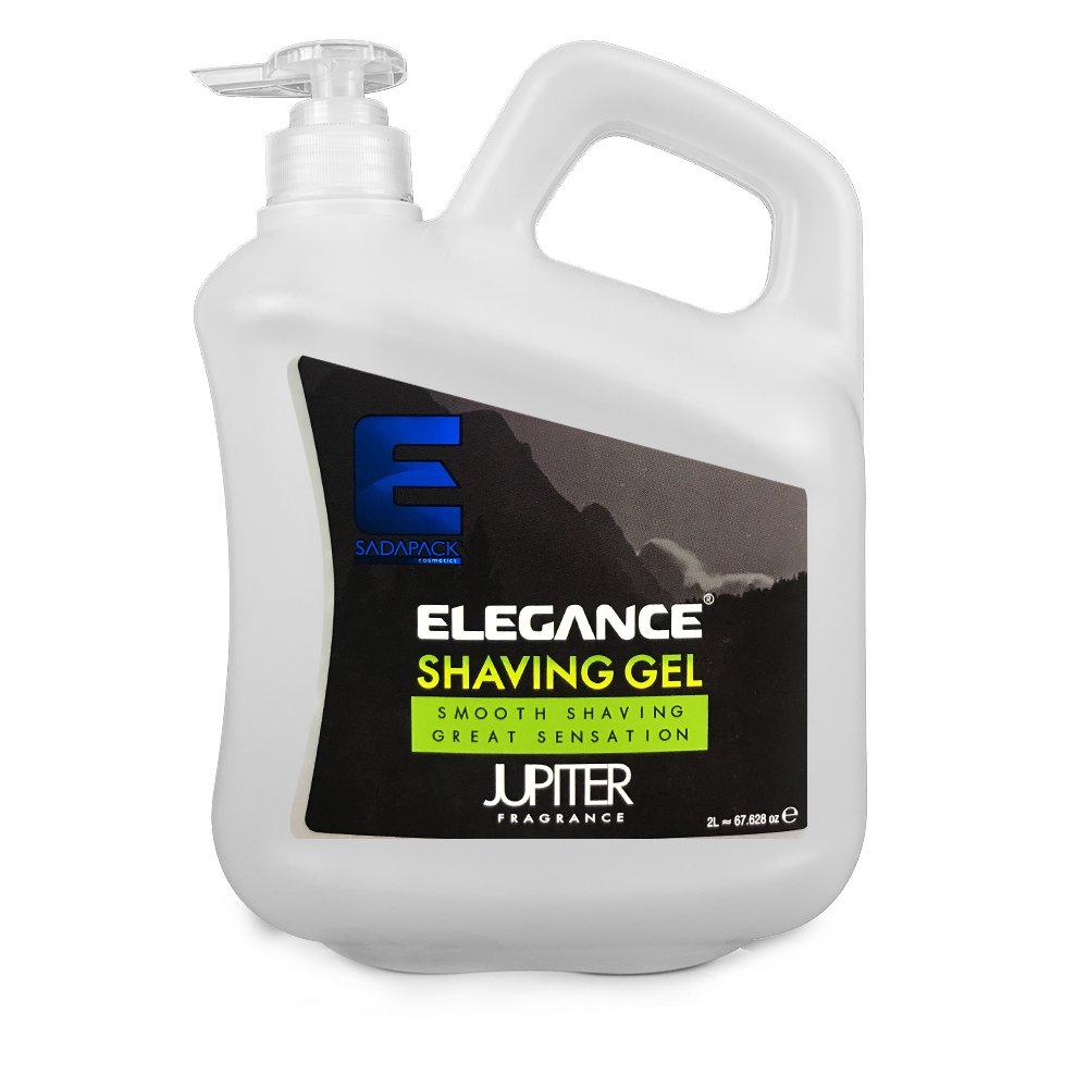 ELEGANCE PLUS Barber Salon Men Skin Jupiter Green Shaving Gel 2L BB-20453