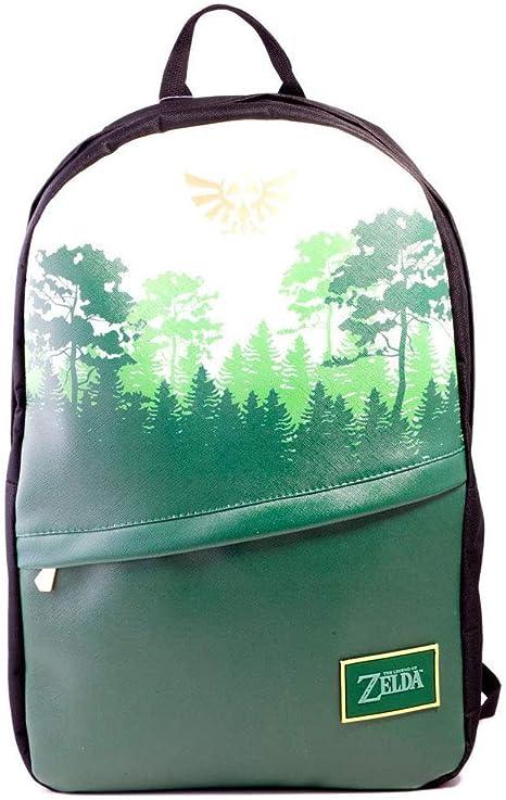 The Legend of Zelda Core Green Forrest Backpack Mochila Tipo Casual 41 Centimeters 20 Negro (Black): Amazon.es: Equipaje