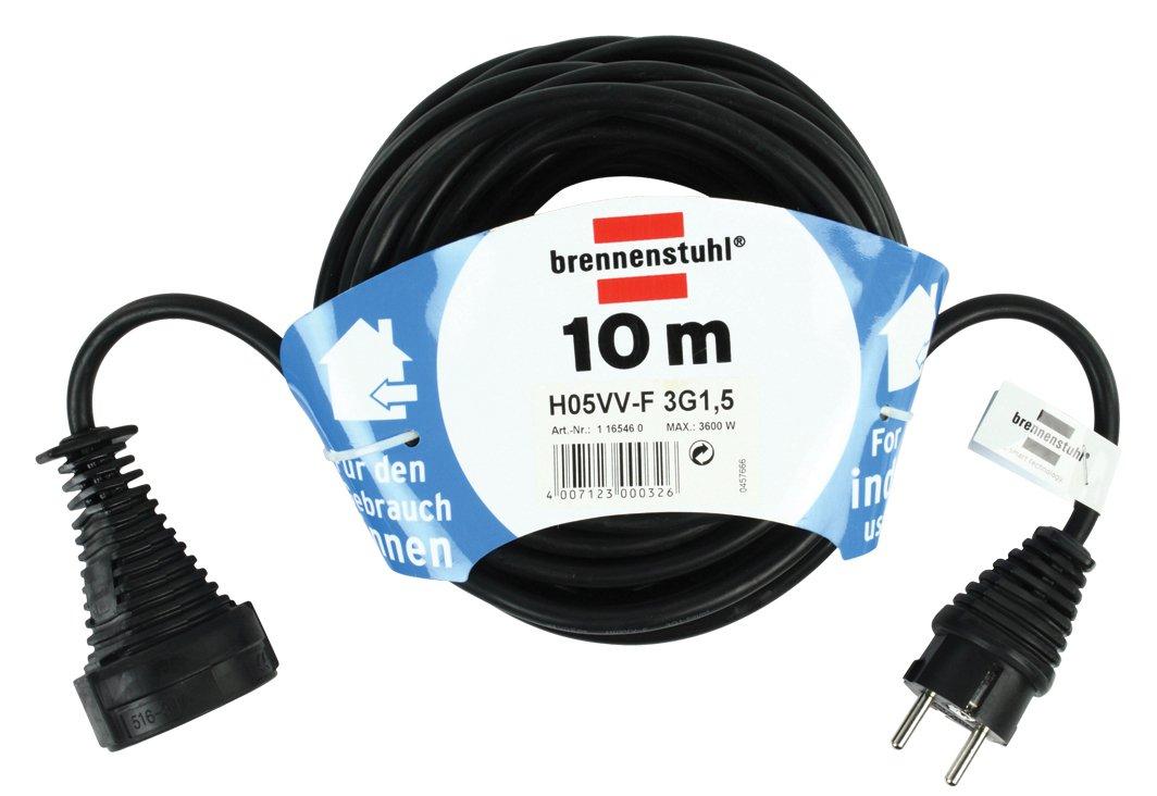 Brennenstuhl 1165460 Bases 230 V Negro