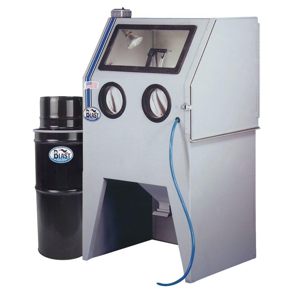 TP Tools USA 2834 Skat Blast Sandblast Sandblasting Cabinet with HEPA Vacuum, 34''W x 28''D x 28''H Work Area, Made in USA