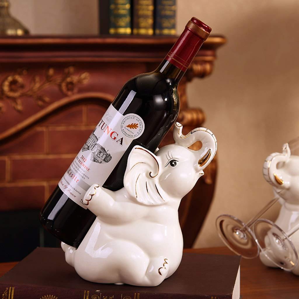 Oak Barrel Estante para Botellas De Vino, 4 Elefantes En ...