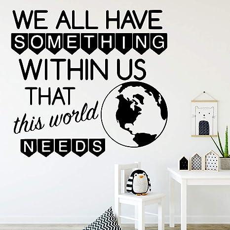 The Earth Quote Nursery Pegatinas de pared de vinilo ...