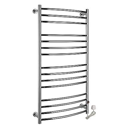 FANGYAO Montado en la pared de acero inoxidable eléctrico toallero / radiador Baño / Calentador de