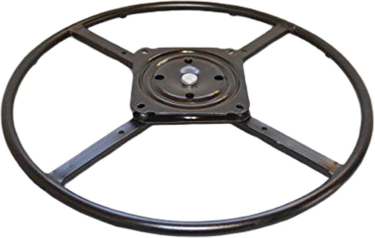 """2WAYZ 24"""" Bar Stool Swivel Ring Base, Hardware Replacement Part. New Life for Chairs, Rockers and Recliners. Quickly Installed Heavy Duty Bearing Kit. Enjoy!"""