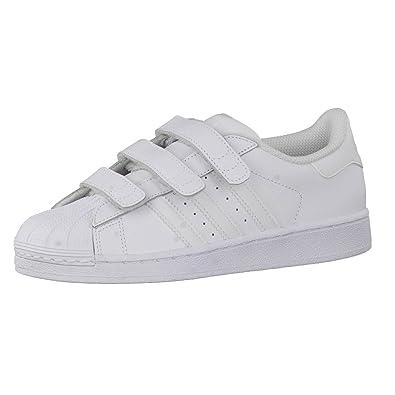 Adidas Kinder Sneaker Superstar Foundation CF C FTWR White/FTWR White/FTWR White 31